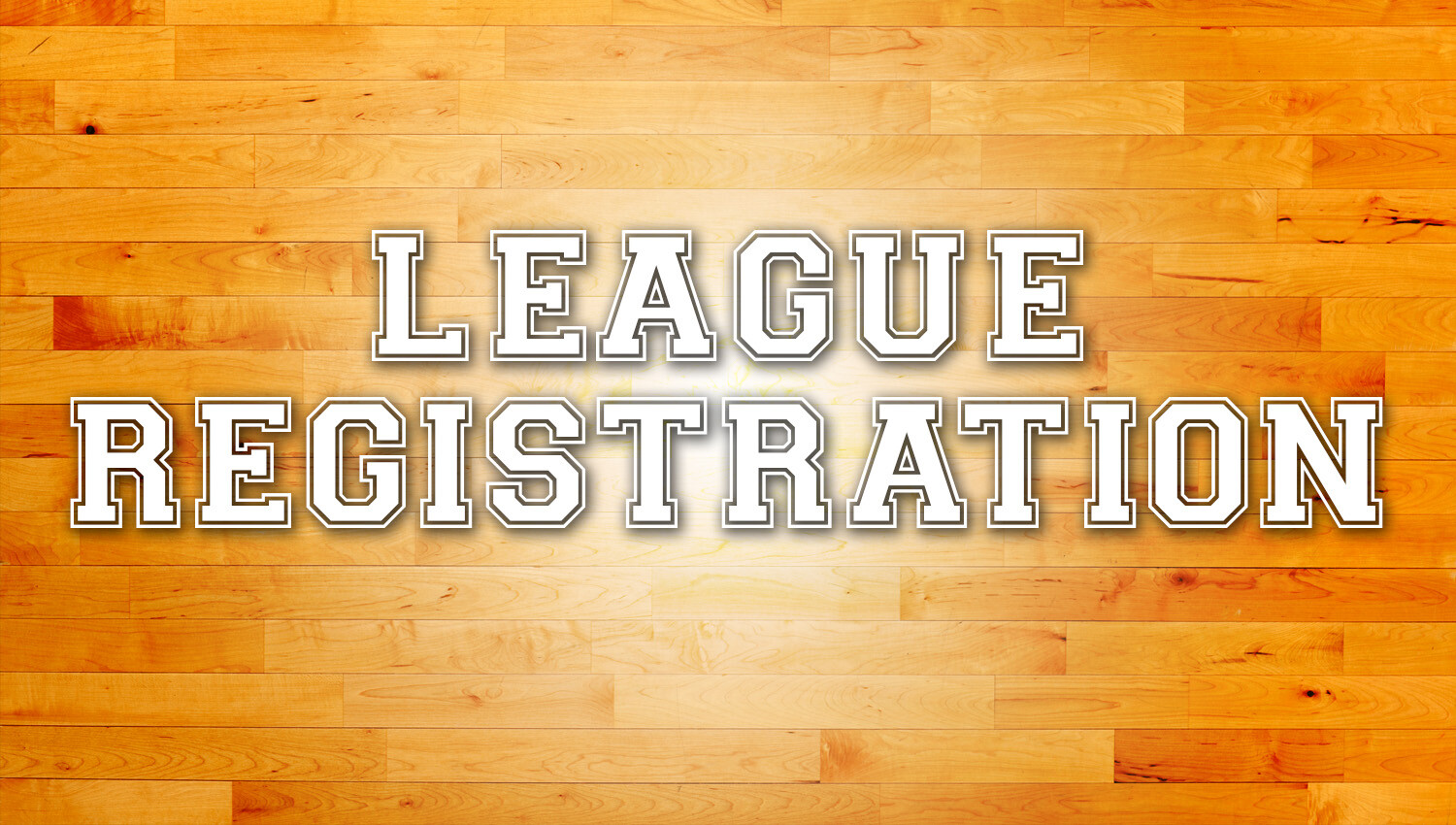 Adult Basketball Registration