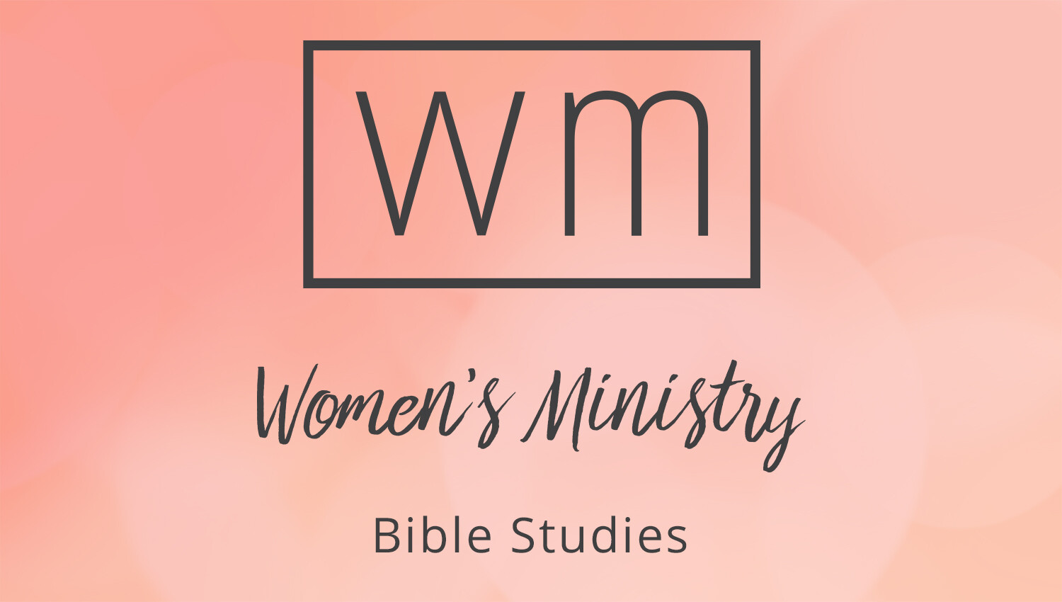 Women's Winter Bible Studies Registration
