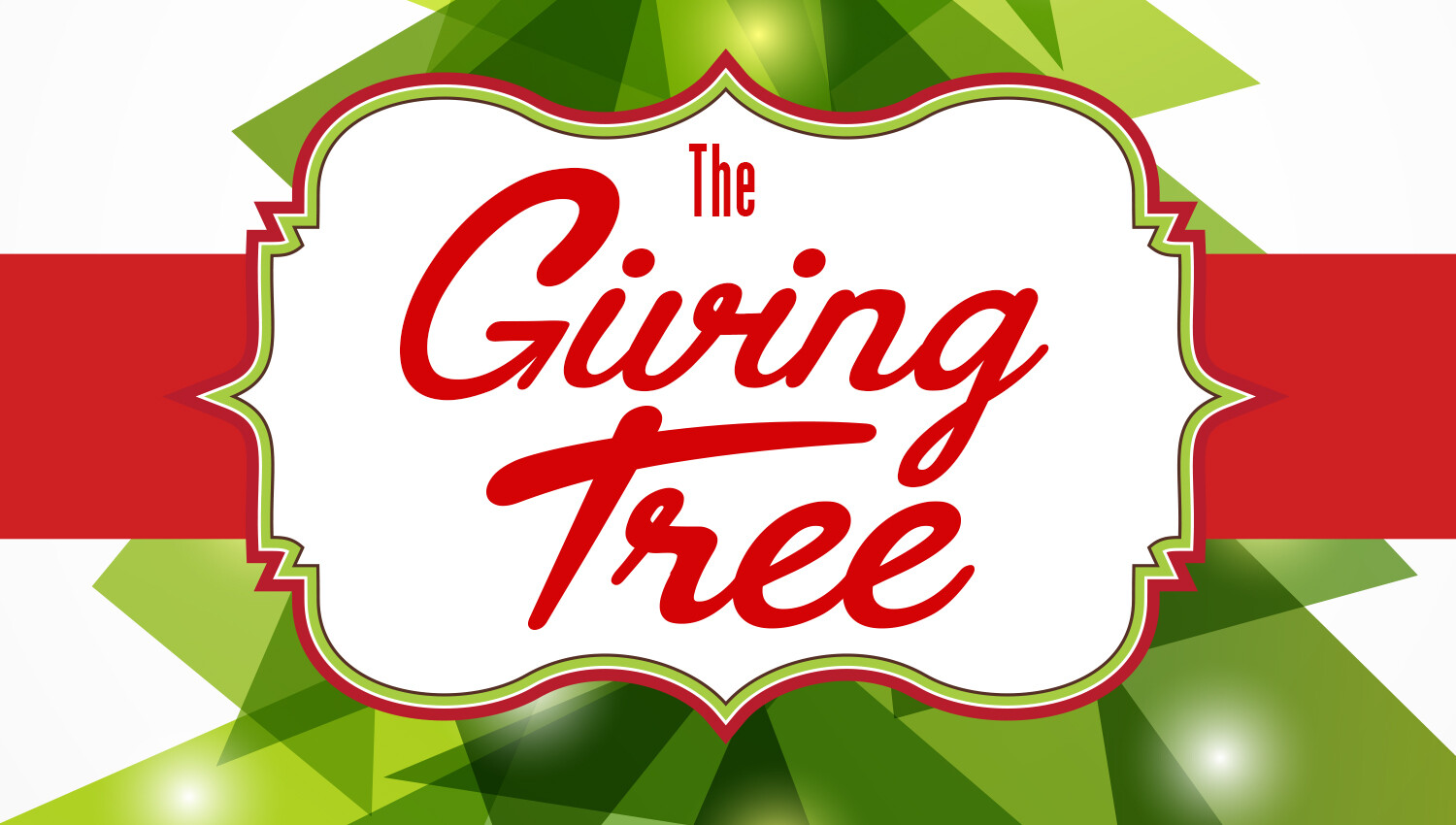 Giving Tree Volunteer Opportunity