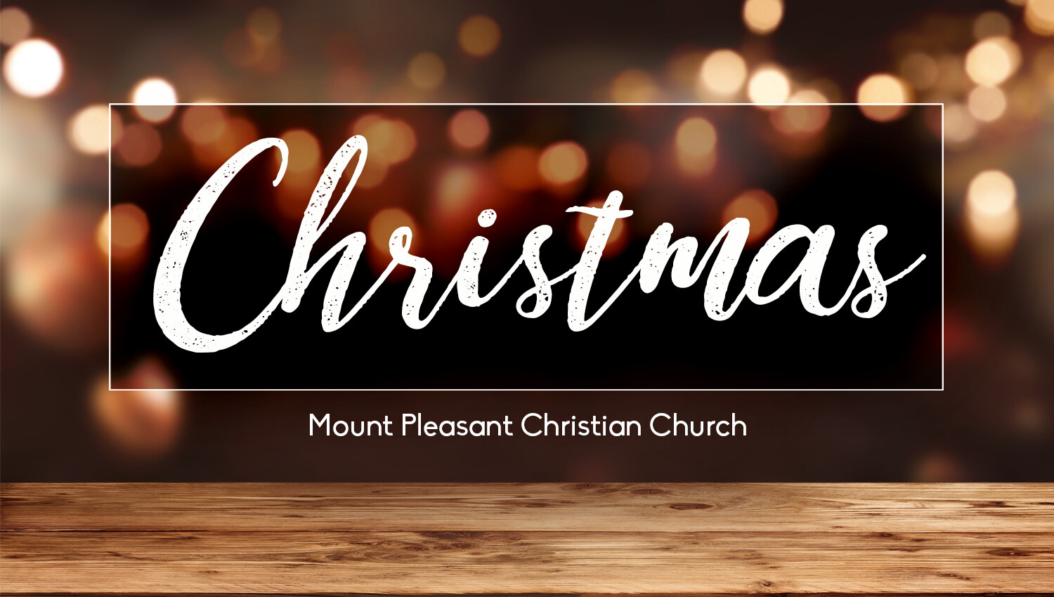 Special Weekend Christmas Services