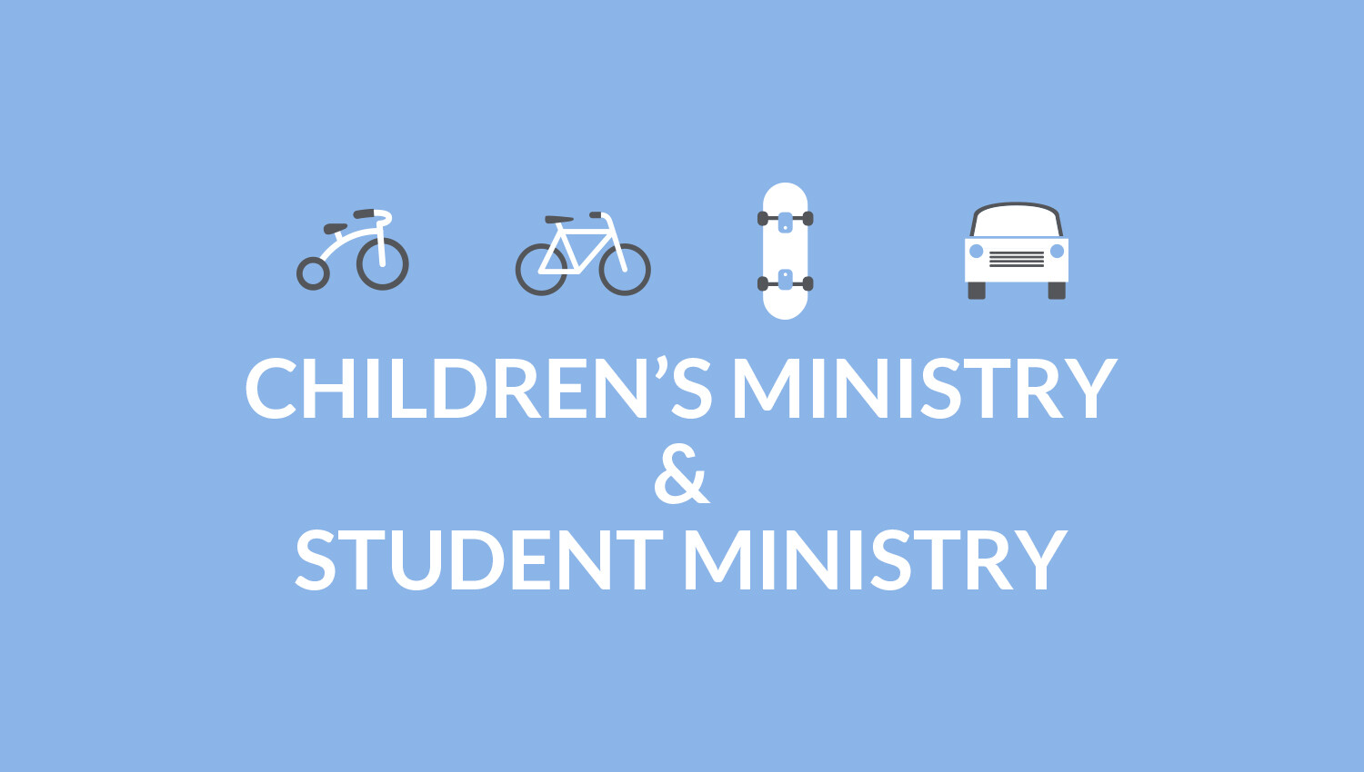 Volunteer with Children's & Student Ministries!