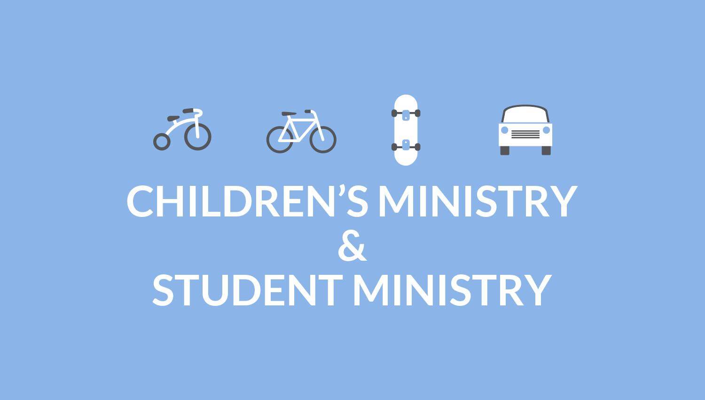 Volunteer with Children's & Student Ministries!