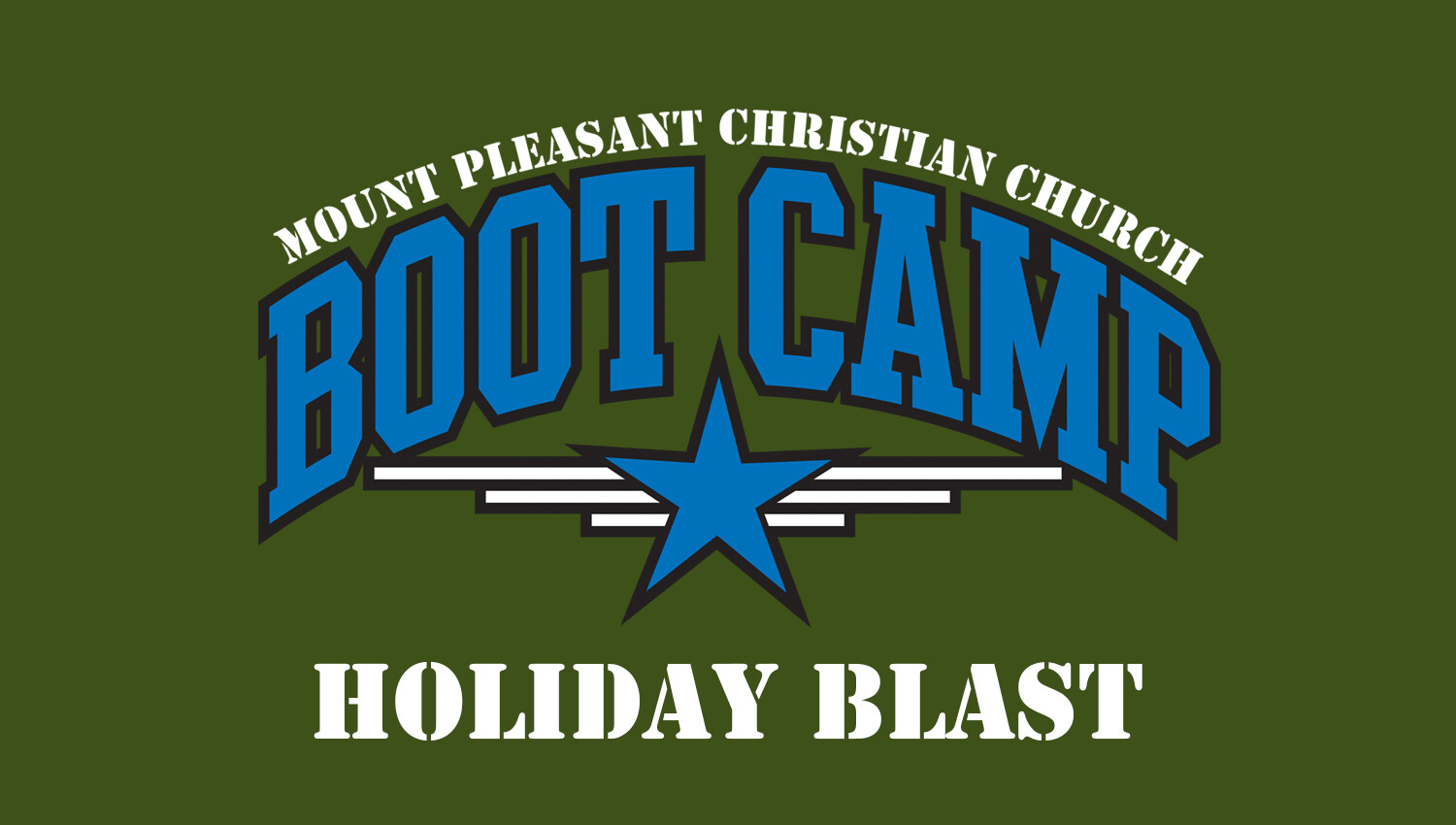 Holiday Blast Boot Camp